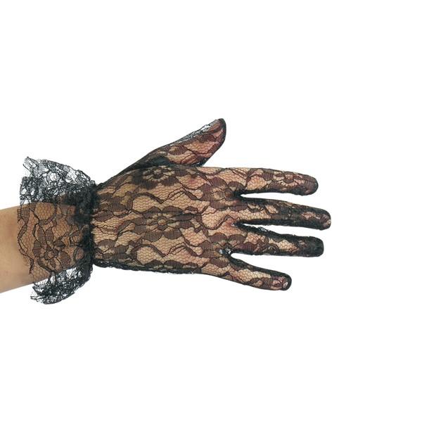 Длинные бархатные, виниловые, кружевные перчатки, короткие кружевные и кожа